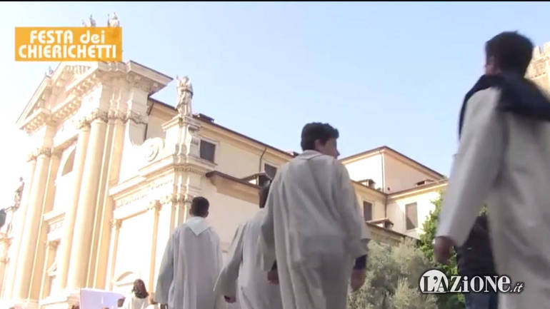 Festa dei chierichetti: in 500 in Seminario - Video